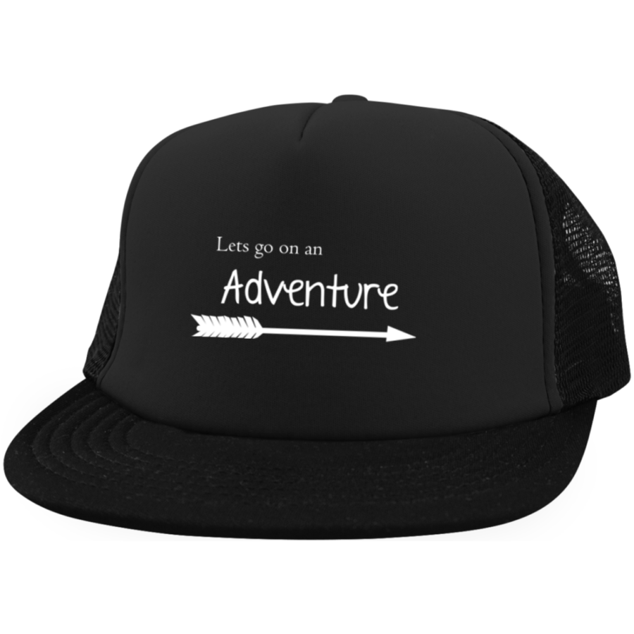 Let's Go On An Adventure Hat - Adventure Hike Travel