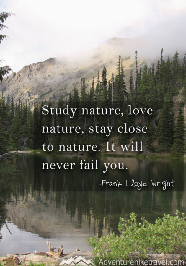 30 Inspirational Sayings and Quotes about Nature - Adventure ...